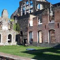 L'abbaye de Villers avant installations