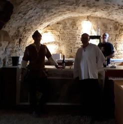 Jehan le Hardi à la taverne souterraine