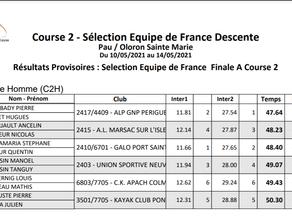 Pierre a, officieusement, son billet pour l'Equipe de France de descente 2021