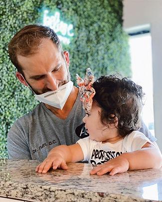 Dr. Fluitt also treats children