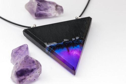 "Pendant ""Aurora Borealis triangle"""