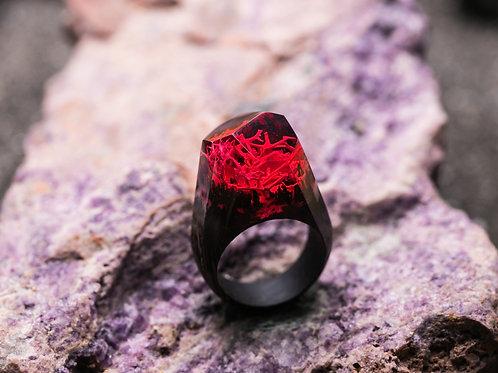 "Кольцо ""RED Coral"" (в наличии 18,7)"