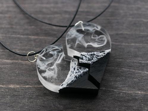 Half Heart Necklaces