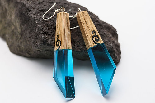 "Earrings ""Ancient patterns"""