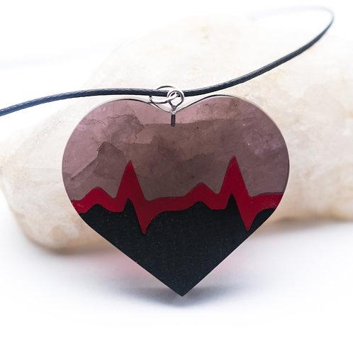 Кулон Heart Beat (в наличии)