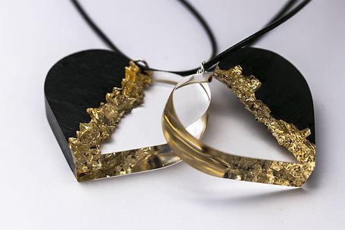 Кулон Golden Heart