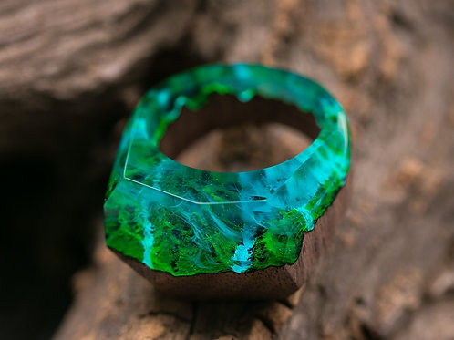 Wood Ring Eternity Waterfall