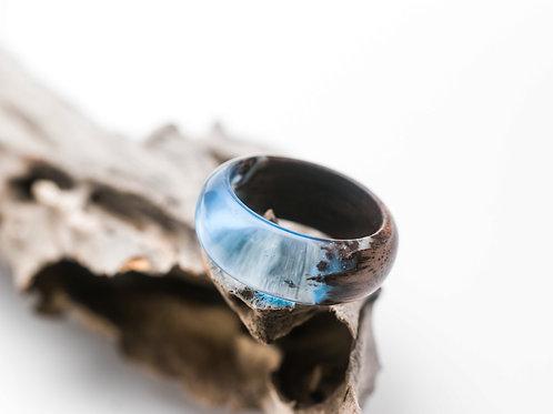 Wood resin Ring Winterfell
