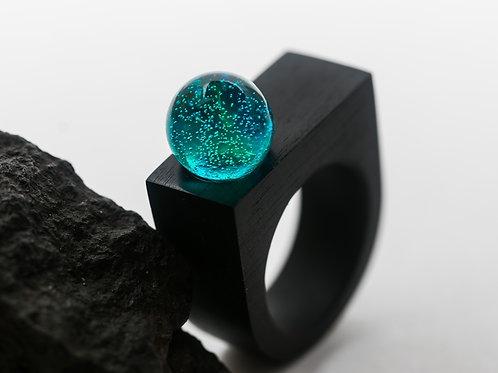 "Wood Ring ""Aurora"""