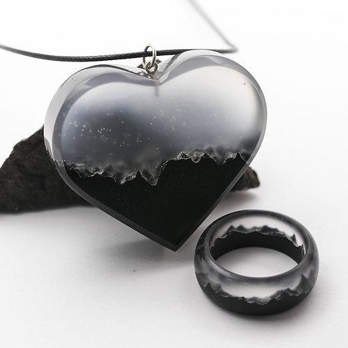 Комплект Mysterious World (кулон+кольцо)