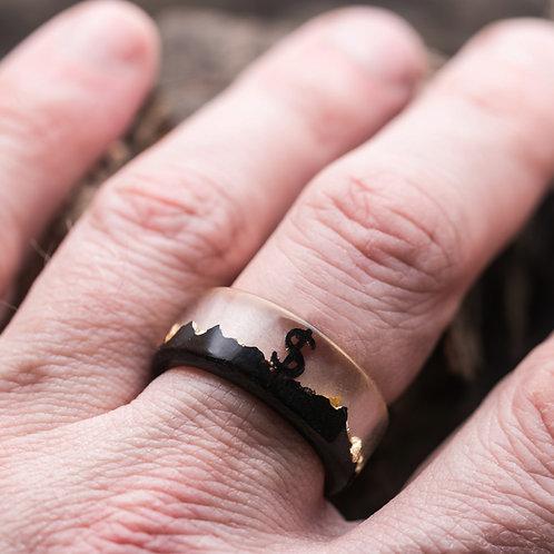 Кольцо Gold Luck (в наличии 19 размер)