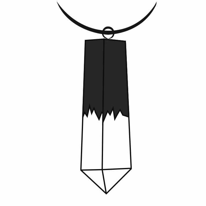 В форме кристалла