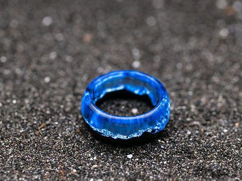Wood resin ring IceBerg