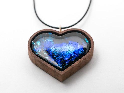 Кулон Cosmos (сердце)