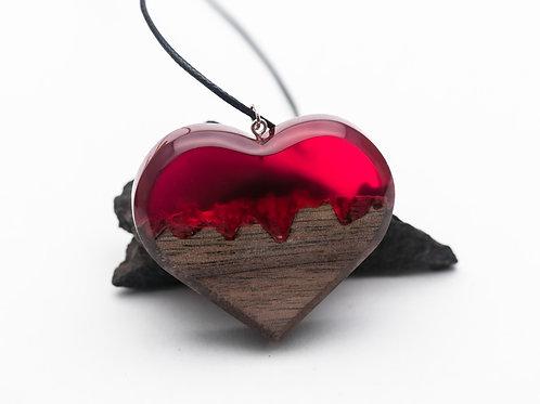 Кулон Red Heart