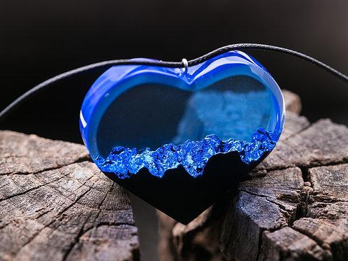 "Pendant ""Sea Breeze"" (heart)"