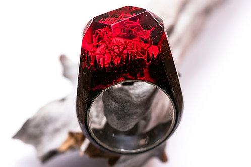 "Кольцо ""RED Coral"""