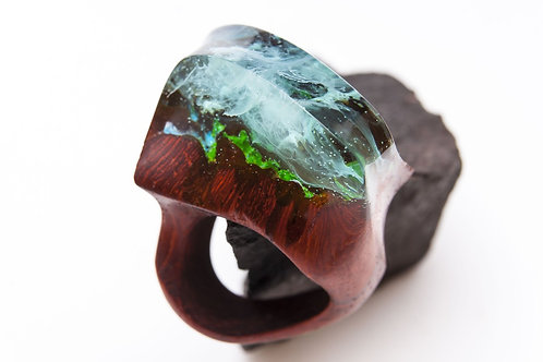 "Wood Ring ""Avatar"""