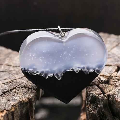 Кулон Mysterious Heart