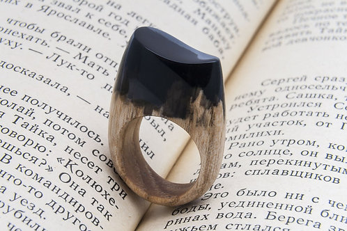 """Wood Ring """"LIMERENCE"""""""