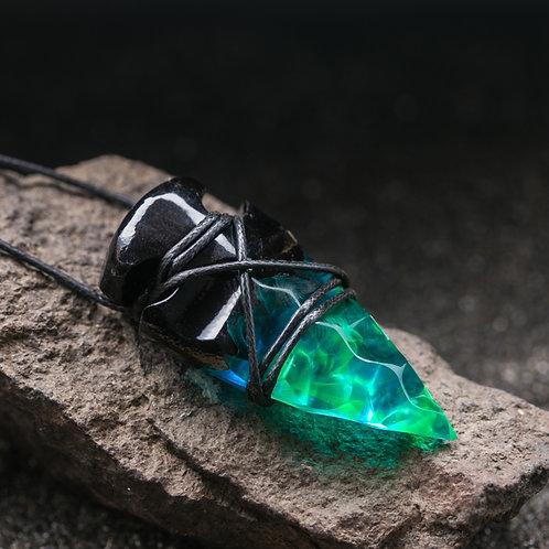 Кулон Полярная Ночь Cristal Arrowhead