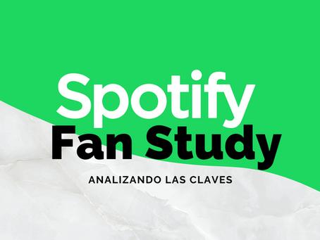 Analizando las claves de Spotify Fan Study.
