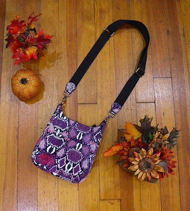 Mini Raspberry Python Messanger Guitar Strap Bag