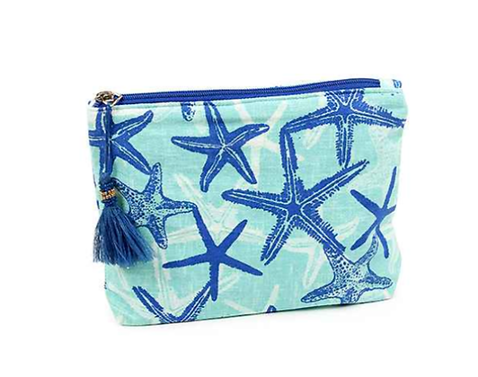 Starfish Pouch/Cosmetic Bag