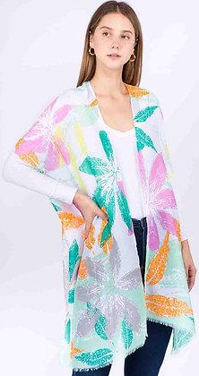 Big Flower Kimono