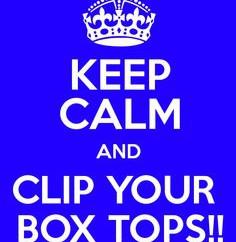 BOX TOPS IS BACK, FEB 4 - 8!