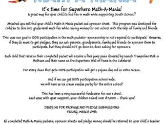 SUPERHERO MATH-A-MANIA