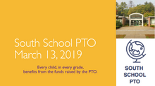 PTO MEETING: WED. MARCH 13TH @ 7