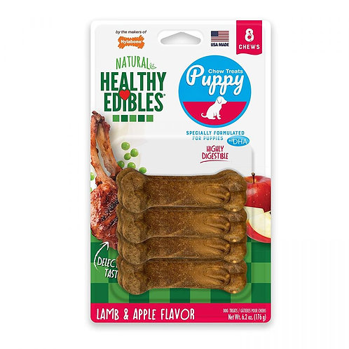 Nylabone Healthy Edibles DHA Omega-3 Puppy - Lamb & Apples Flavor