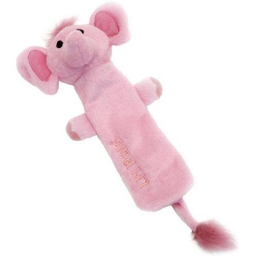 Li'l Pals Crinkle Elephant Dog Toy