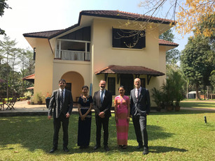 Sweden supports Education Program of U Thant House