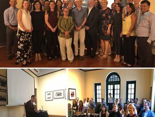 UNICEF Senior Management Team visit to U Thant House