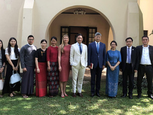 Roundtable discussion with Chinese Ambassador H.E. Mr. Chen Hai and delegation