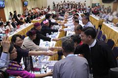 Peace talks in Yangon