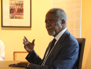 Seminar on 'Youth and Global Challenges' by Kofi Annan