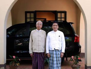 H.E. U Htin Kyaw, President of Myanmar, visits U Thant House
