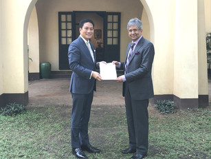 India renews support for U Thant House