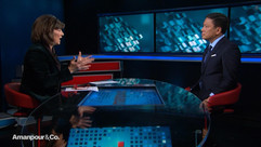 Interview with Christiane Amanpour, CNN