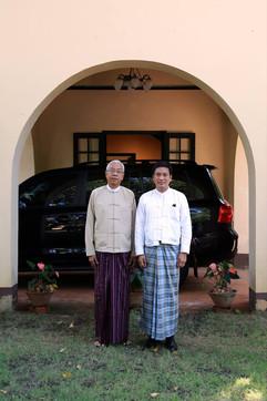 President of Myanmar U Htin Kyaw