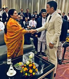 President of NepalBidhya Devi Bhandari