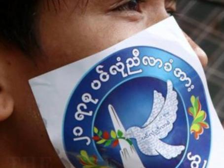 ငြိမ်းချမ်းရေး အလွန် မြန်မာပြည်