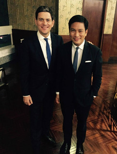 IRC President and former UK Foreign Secretary David Miliband