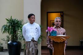 Kishore Mahbubani at U Thant commemorative lecture