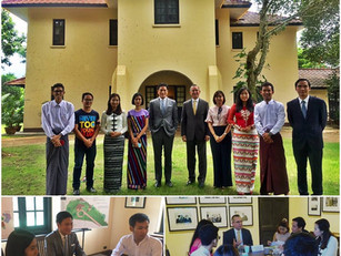 Roundtable discussion on 'Myanmar: an unfinished Nation' with US Ambassador's Youth Council