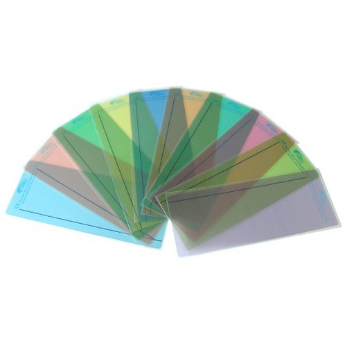 Crossbow ruler overlays: Multi-colour – Pack of 10