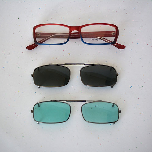 Stock Clip ons for Precision Tinted Lenses